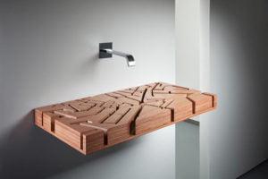 необычные деревянные умывальники фото 11